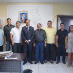 Ricardo Diniz participa de reunião na SEMOSP.