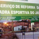 Quadras poliesportivas públicas de São Luís.