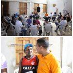 Raimundo Penha discute com moradores melhorias para o Ipase.