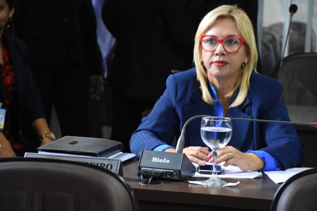 A vereadora Bárbara Soeiro