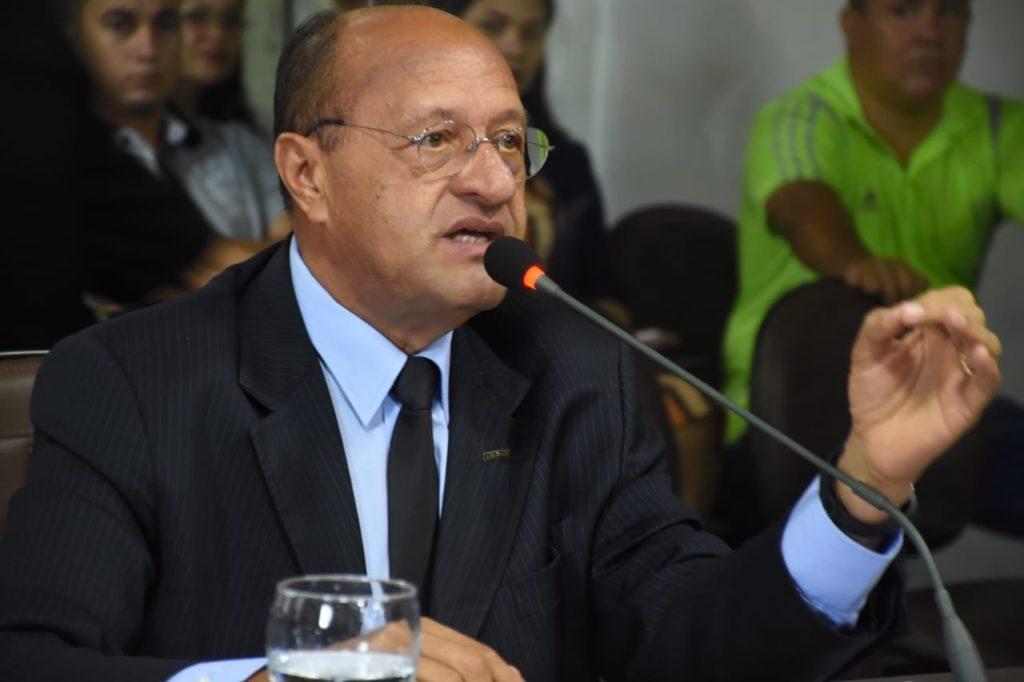 O vereador Pavão Filho