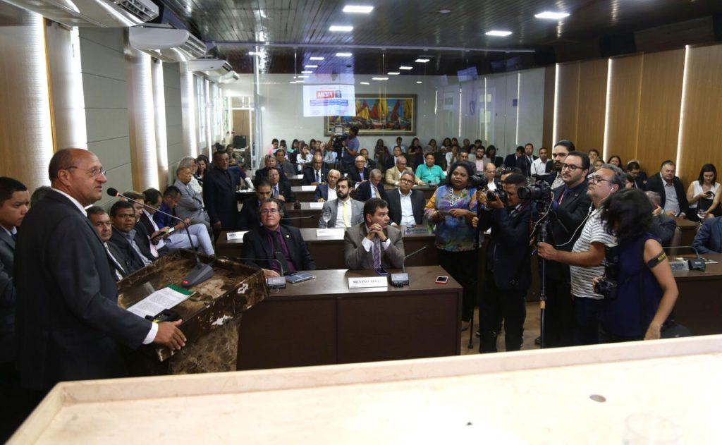 Câmara realiza sessão solene em homenagem aos 50 anos da FIEMA