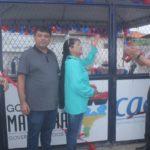 Fátima Araújo participa da inauguração do Poço no Residencial João Alberto