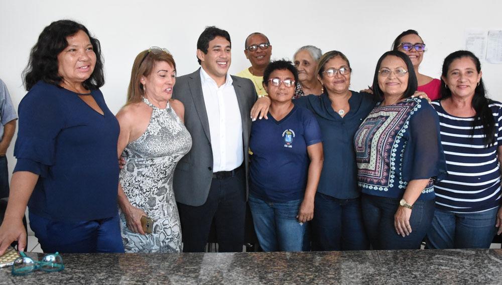 Osmar Filho em recente reunião com servidores da Câmara de São Luís.