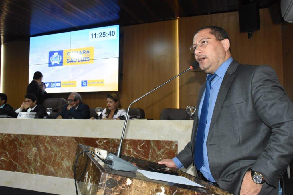 O vereador Antônio Marcos Silva, o Marquinhos