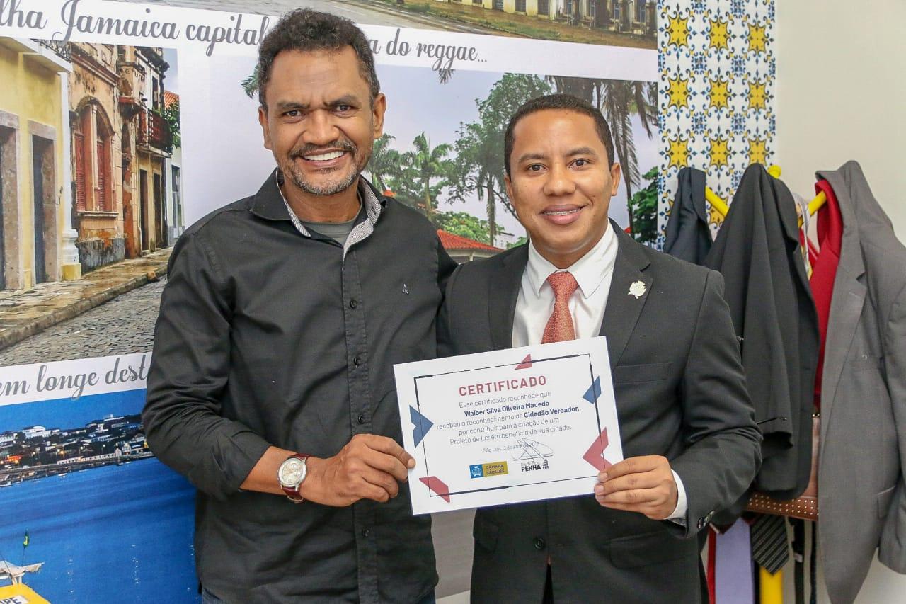 Vereador recebeu o servidor público Walber Silva Oliveira Macedo