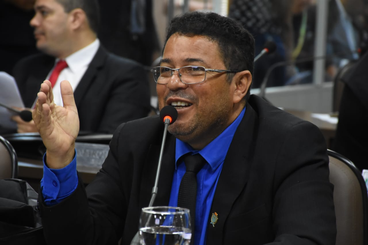 O vereador Sá Marques - Câmara Municipal de São Luís - MA