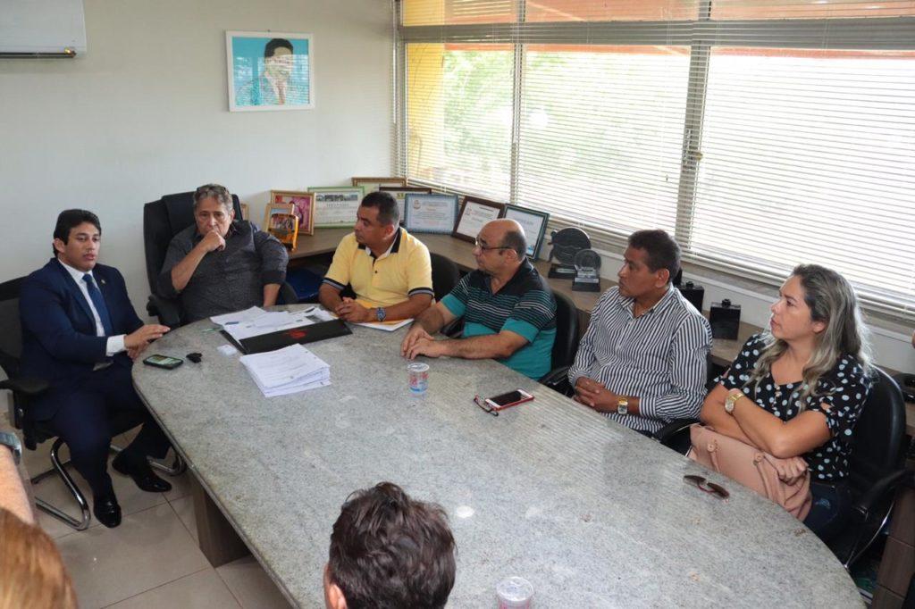 Osmar Filho agradeceu a prefeitura e destacou a união do Parlamento de São Luís.