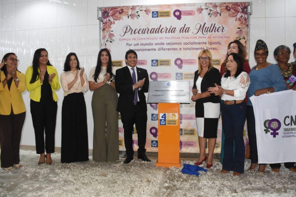 Procuradoria da Mulher é inaugurada na Câmara Municipal de São Luís