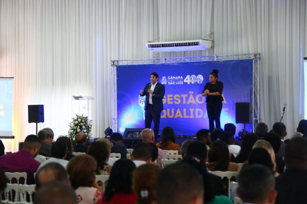 Osmar Filho anuncia novas ações de modernização da Câmara de São Luís