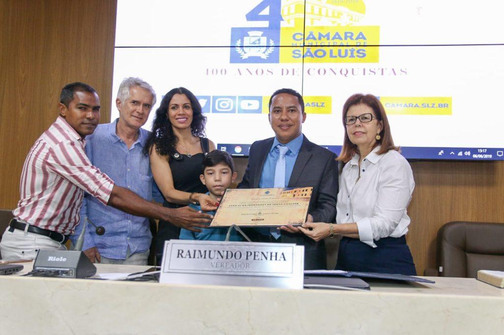 Câmara concede título de Cidadã de São Luís a Janicelma Fernandes