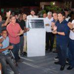 Vereadores prestigiam inauguração da Praça Bom Jesus, no Coroadinho