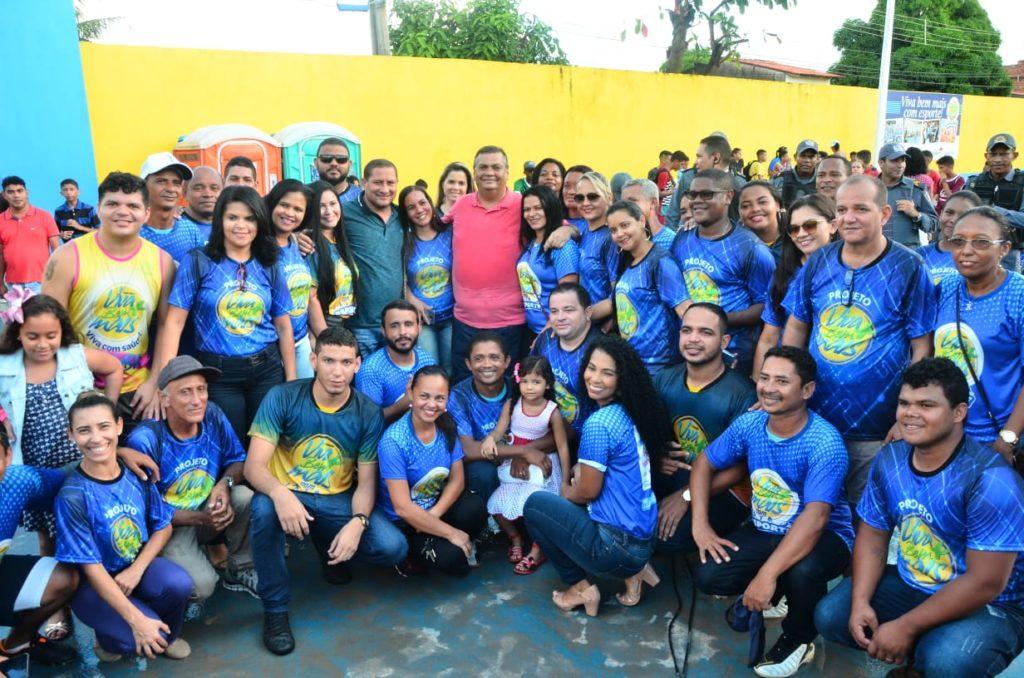 Governador conhece projeto social apoiado por vereador e destaca benefícios à comunidade