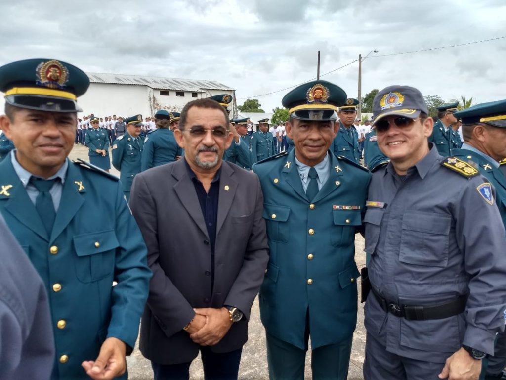 Joãozinho Freitas prestigia formatura do Curso Especial de Formação de Sargentos