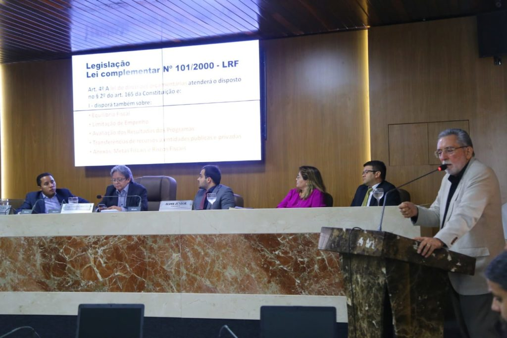 Audiência Publica na Câmara discute LDO