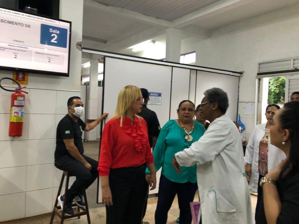 Procuradoria da Mulher visita espaço da Mulher, no Socorrão II