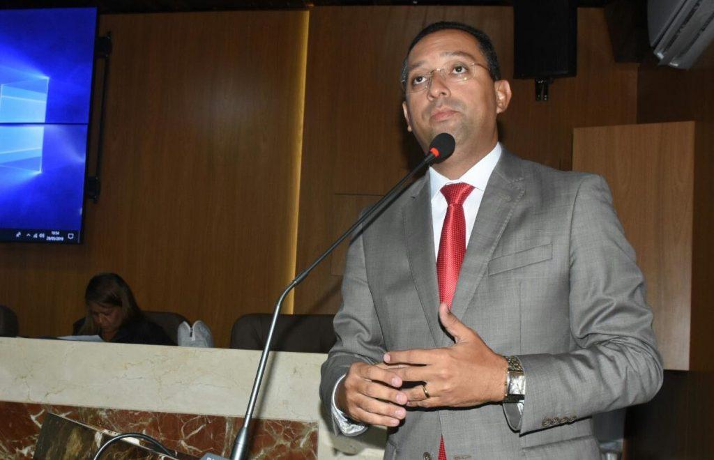 O vereador Ricardo Diniz