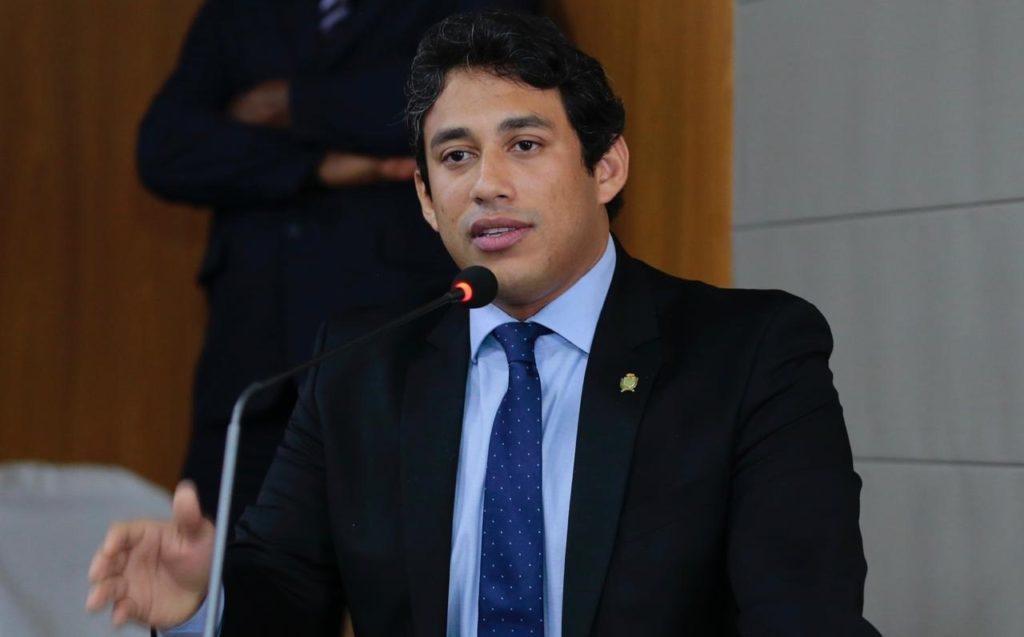 O presidente da Câmara Municipal de São Luís , vereador Osmar Filho (PDT)