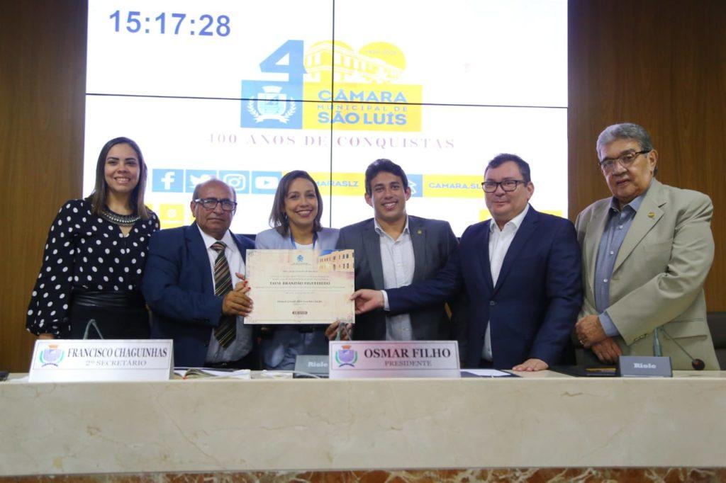 Câmara concede Título de Cidadã de São Luís a Superintendente da Infraero
