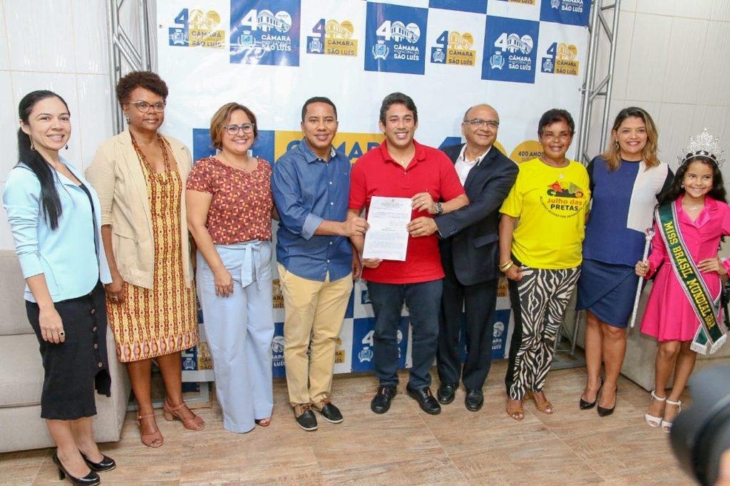Lei foi promulgada pelo presidente da Câmara, vereador Osmar Filho.