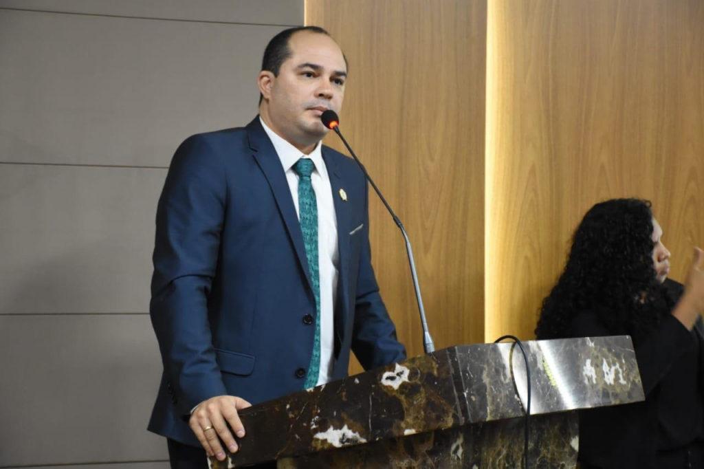 O vereador Estevão Aragão