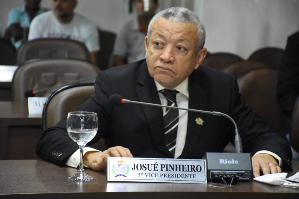 O vereador Josué Pinheiro