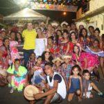 Umbelino Junior visita arraiais e recebe homenagem em comunidade
