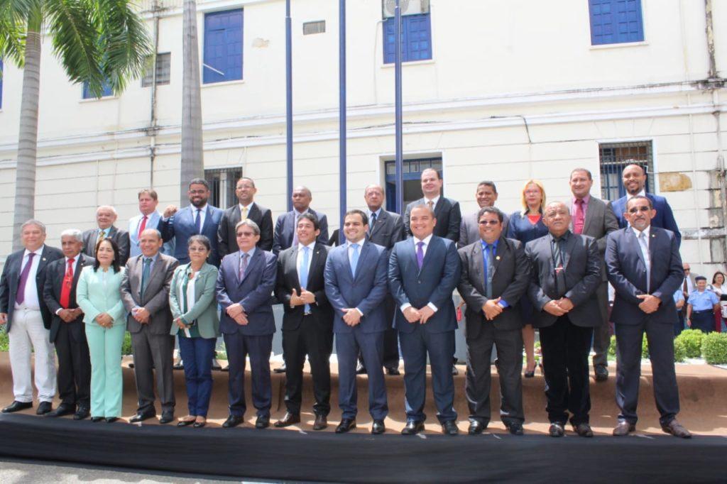 Sessão solene marca a retomada dos trabalhos da Câmara Municipal de São Luís