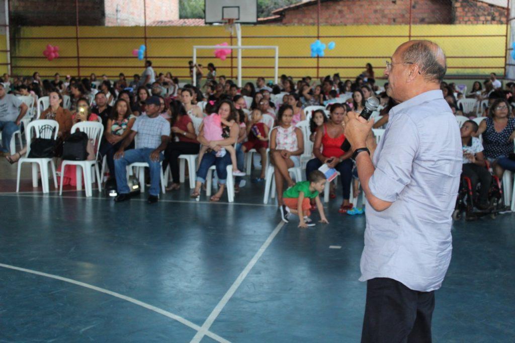 Vereador Pavão Filho participa de inauguração da Universidade da Criança