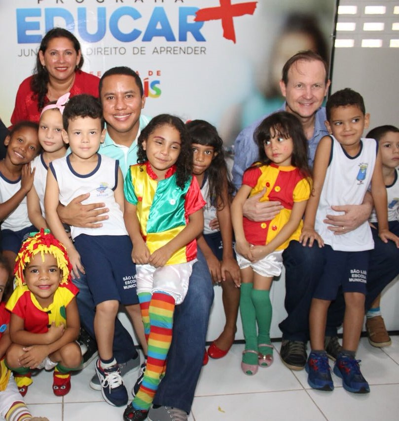 Raimundo Penha vem obtendo benefícios para a educação pública de São Luís.