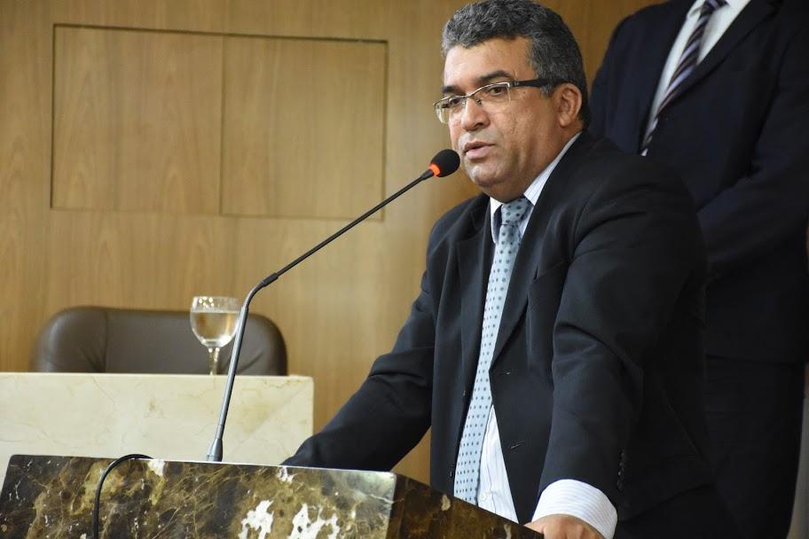 O vereador Marcial Lima (PRTB). Foto: Paulo Caruá