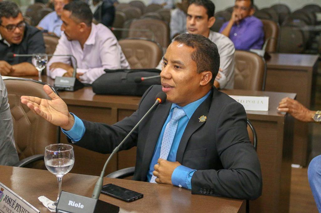 O vereador Raimundo Penha (PDT)