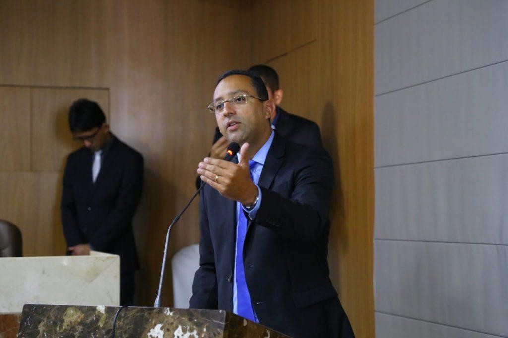 O vereador Ricardo Diniz (PRTB)
