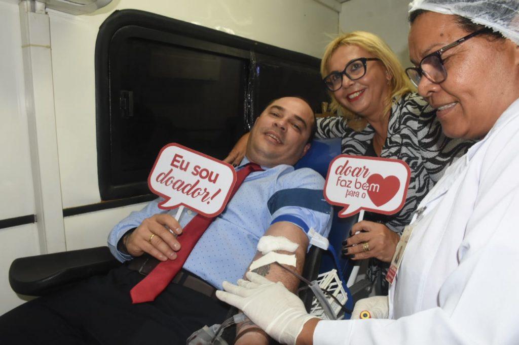 Campanha de doação de sangue mobiliza Câmara de São Luís