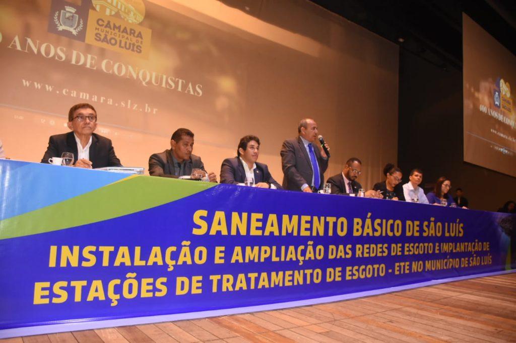 Vereador anuncia criação de Frente Parlamentar Mista em defesa do saneamento básico