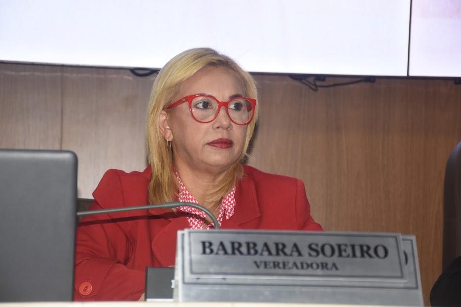 A vereadora Bárbara Soeiro (PSC)
