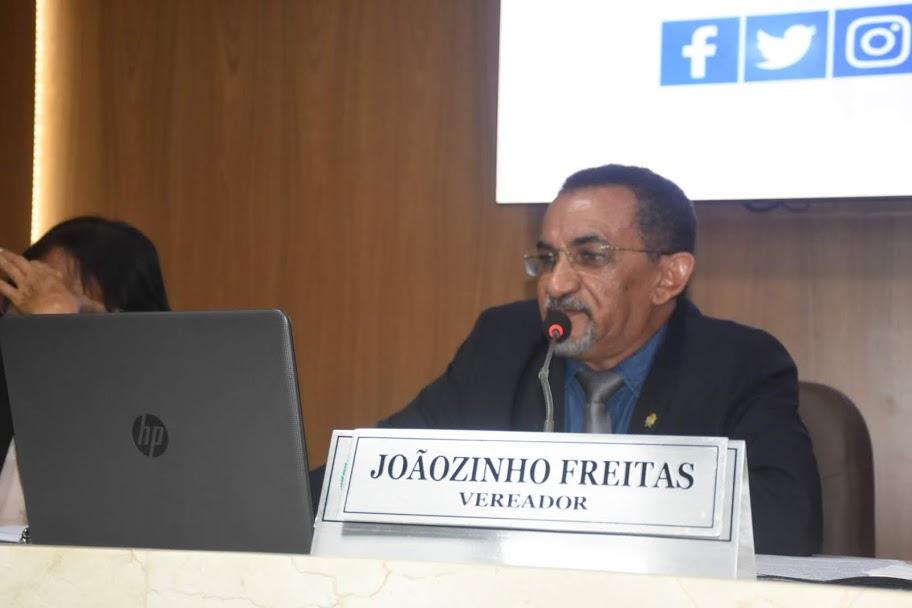 O vereador Joãozinho Freitas (PTB)