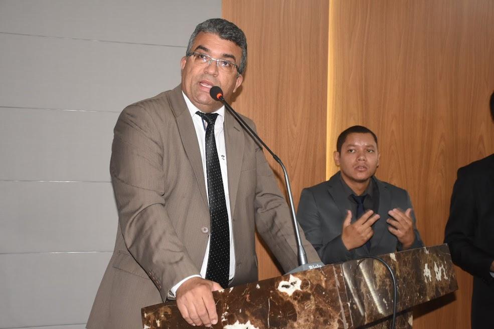 O vereador Marcial Lima (PRTB)