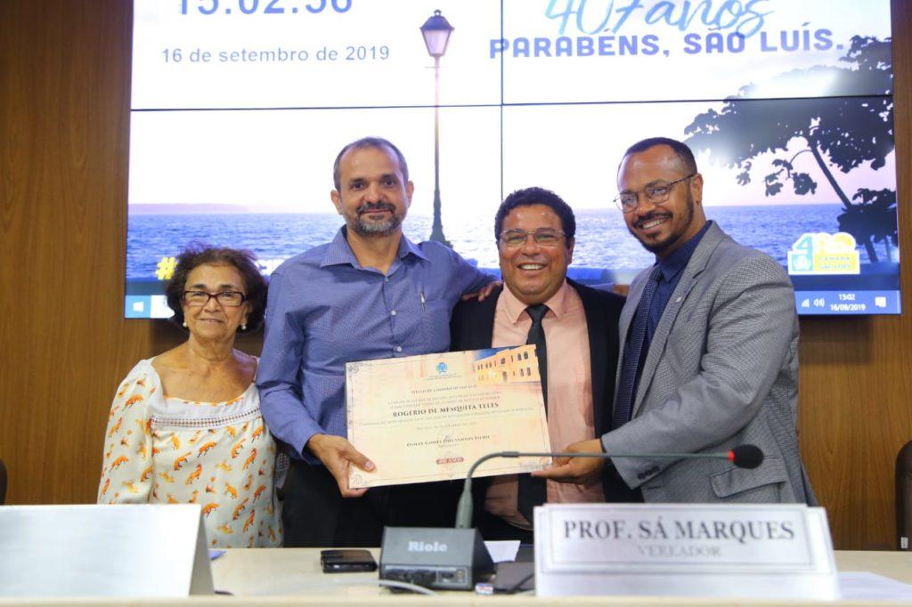 Cientista é homenageado pela Câmara de Vereadores de São Luís