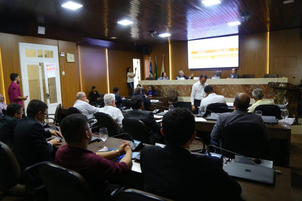 Câmara discute Orçamento de 2020 para São Luís em audiência pública