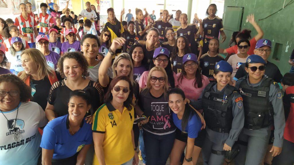 Procuradoria da Mulher movimenta Itaqui-Bacanga com torneio de futebol feminino