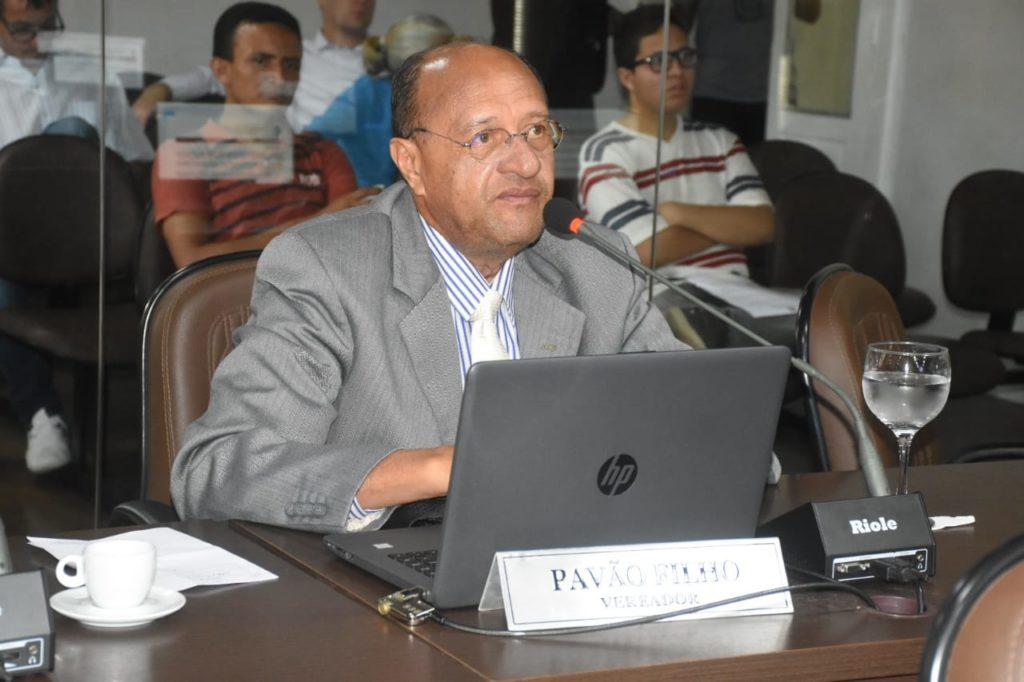 O vereador Pavão Filho (PDT)