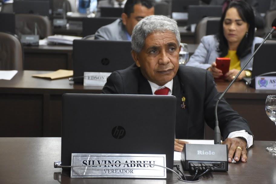 O vereador de São Luís Silvino Abreu (PRTB)