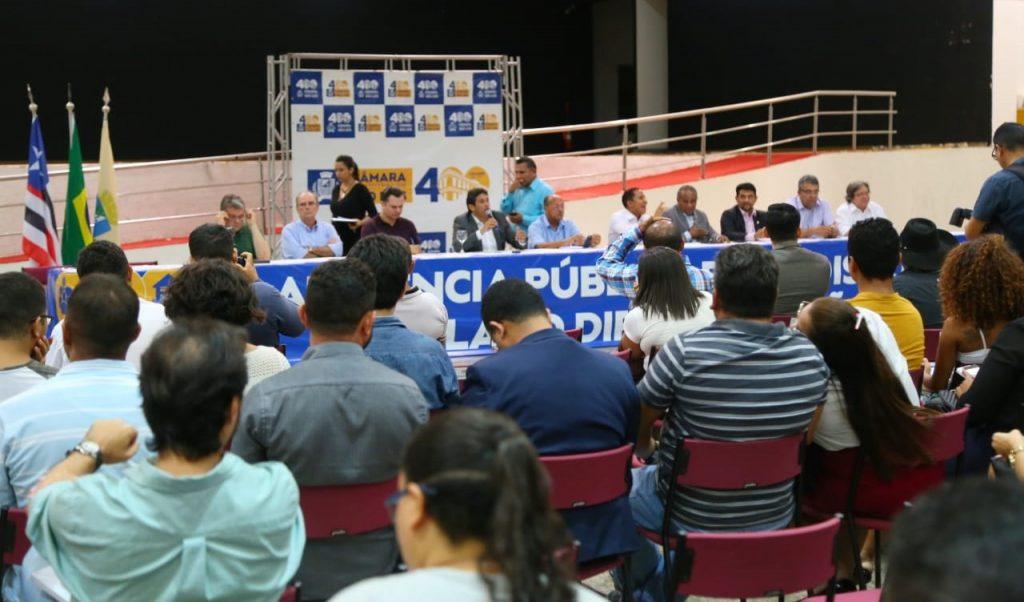 Audiências estão reunindo vereadores, representantes da sociedade e do Poder Público.