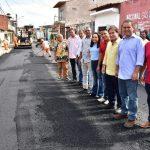 """Osmar Filho celebra obras de asfaltamento na capital: """" São Luís vive um novo momento"""""""