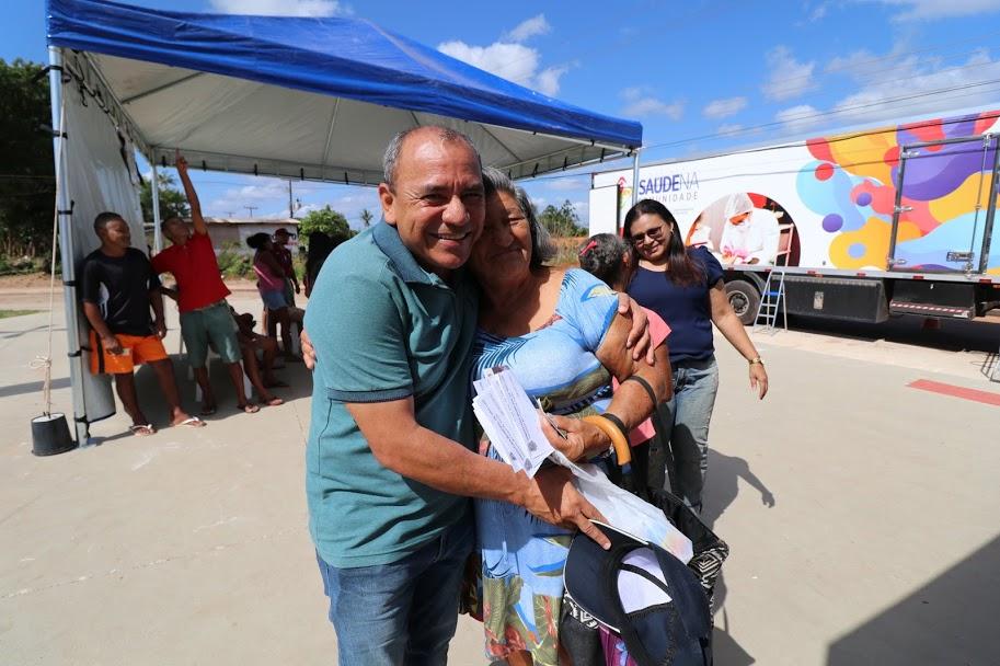 Idealizador do projeto, Genival Alves participou da ação na zona rural de São Luís.