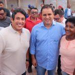 Osmar Filho acompanha avanço das obras do novo Mercado do São Francisco
