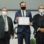 Umbelino Junior é diplomado vereador de São Luís