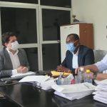 Vereadores da Comissão de Recesso se reúnem com o Secretário Municipal de Saúde, Joel Nunes