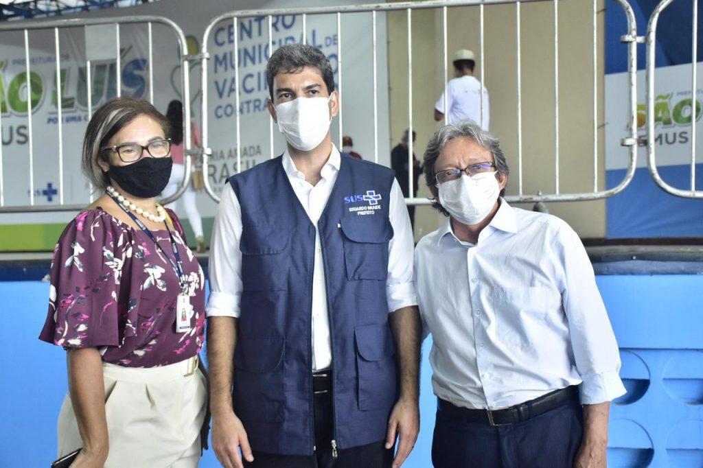 Dr. Gutemberg acompanha início da vacinação contra a Covid-19